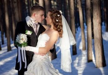 Подбор зимнего свадебного букета для невесты