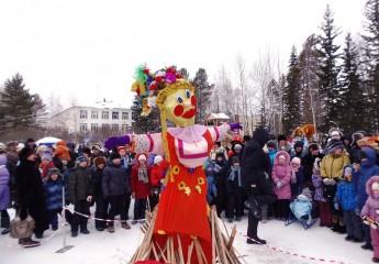 проводы зимы - народные гуляния на улице