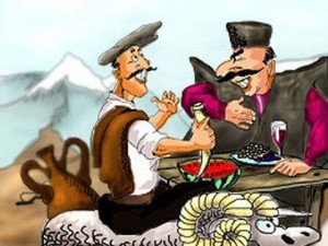кавказская поздравительная притча
