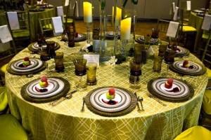 как оформить стол для вечеринки Гэтсби
