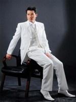 белые свадебные костюмы для мужчин
