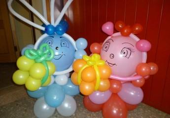 учимся делать своими руками фигуры из надувных шаров