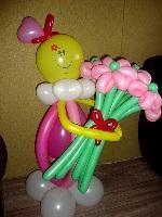 фигуры из надувных шаров