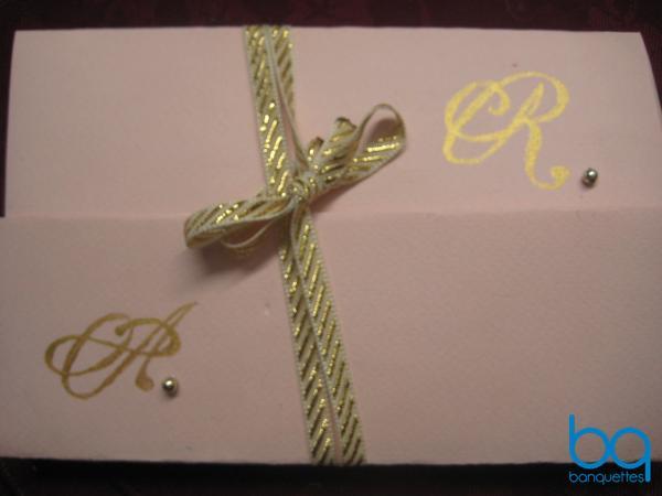 Свадебное приглашение своими руками от сайта Банкетс