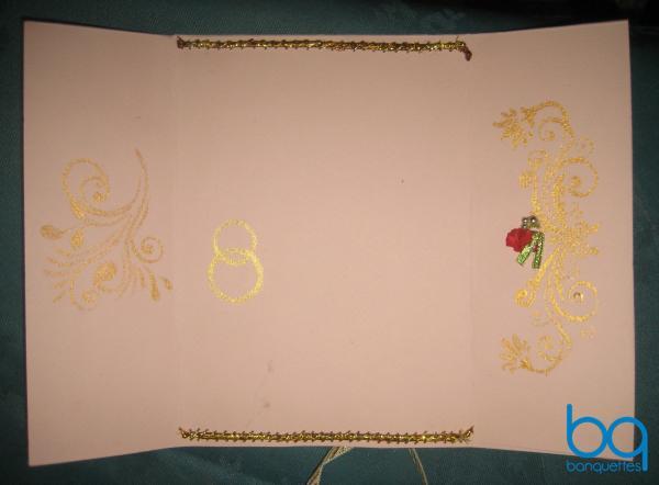 готовое свадебное приглашение сделанное своими руками