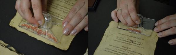 фамильная печать для свадебного приглашения