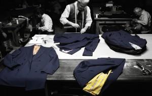 выбор дорогих тканей и пошив на заказ