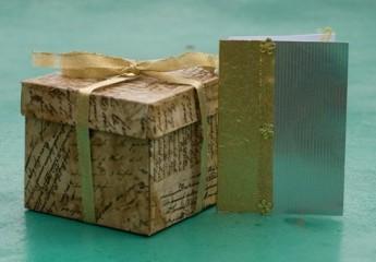 коробка подарочная изготовленная своими руками