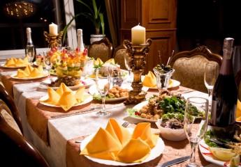 украшение праздничного стола на день рождения