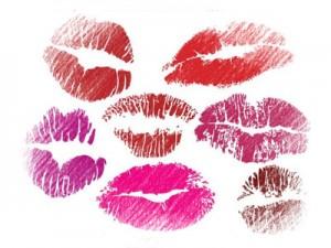 жених должен угадать отпечаток губ невесты