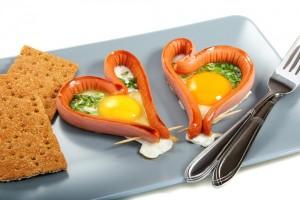 день всех влюбленных завтрак в постель