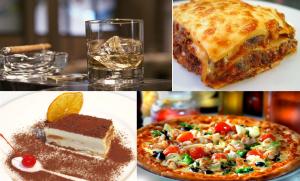 еда и напитки вечеринки в стиле Мафия