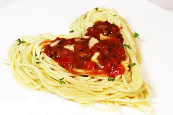 рецепт Спагетти «Минутка страсти»