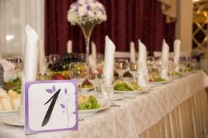 нумерация столов для гостей на свадьбе