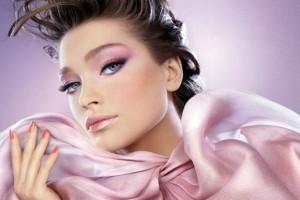 розовый макияж для выпускницы