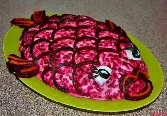 пробуем украшать блюда для праздничного стола