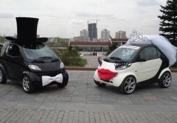 украшаем свадебные машины своими руками