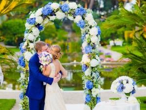 свадебная арка изготовленная своими руками