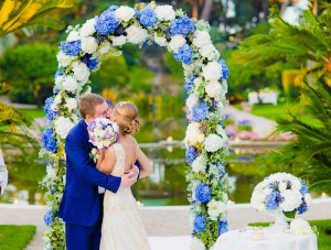 Свадебная арка 65