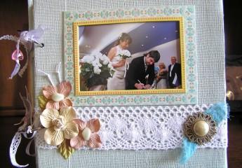 свадебный альбом по технике скрапбукинг