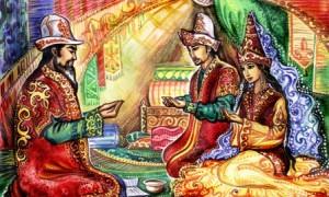 казахское сватовство
