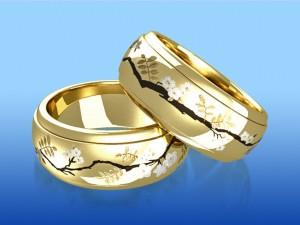 какими должны быть обручальные кольца на свадьбу