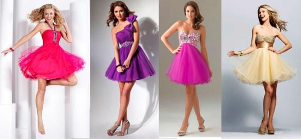 каким девушкам идут короткие пышные платья