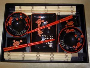 дарим набор для суши