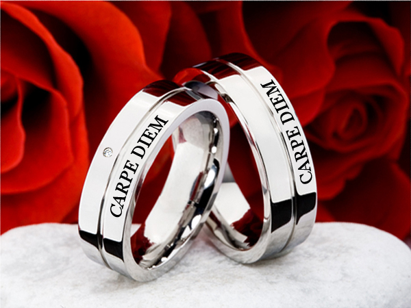 палладиевое обручальное кольцо