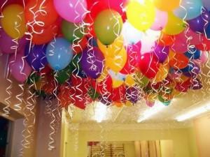 как украсить помещения для празднования дня рождения