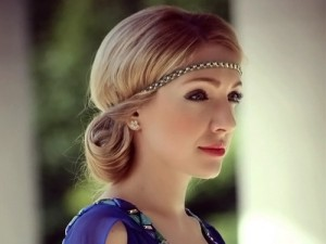 греческая прическа для невесты