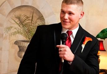 тост от свидетеля на свадьбе для молодых