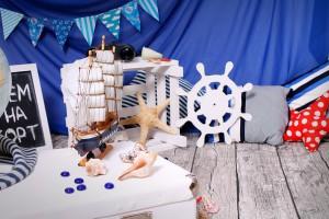 как оформить помещение на морскую вечеринку
