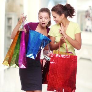 подарите подружке шопинг