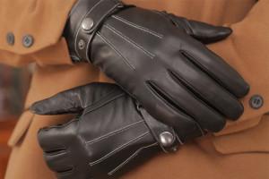 кожаная пара перчаток