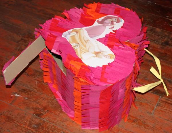 пиньята сердце для дня рождения