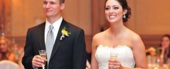 короткие тосты молодоженам на свадьбу