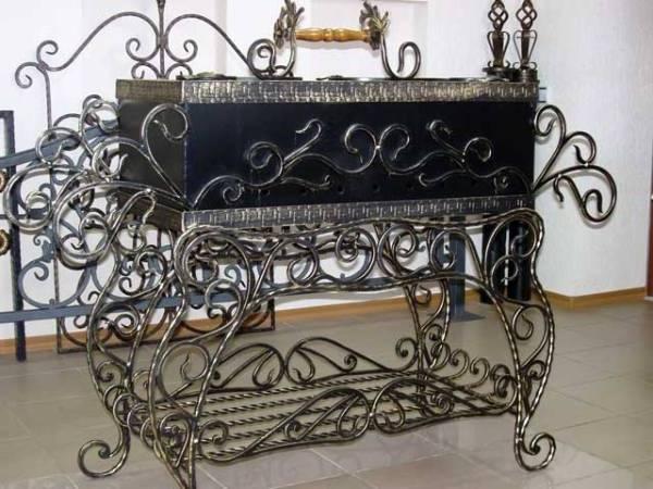 подарочный кованый мангал