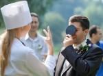 выкуп невесты в стиле медицины