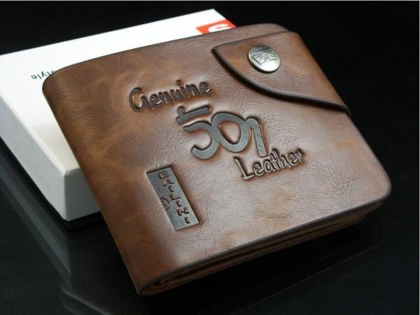 бумажник из кожи для мужа