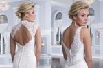 свадебные платья с кружевным верхом