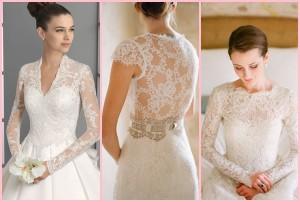 красивые свадебные платья с кружевным верхом