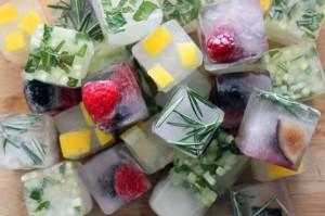 кубики цветного льда для застольного конкурса