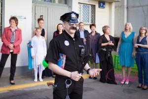 выкуп невесты женихом в стиле полиции