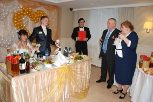 поздравление невесты и жениха