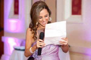 подружка невесты и ее смешное поздравление
