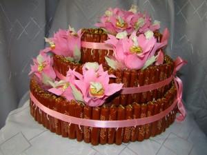 домашний подарок в виде торта