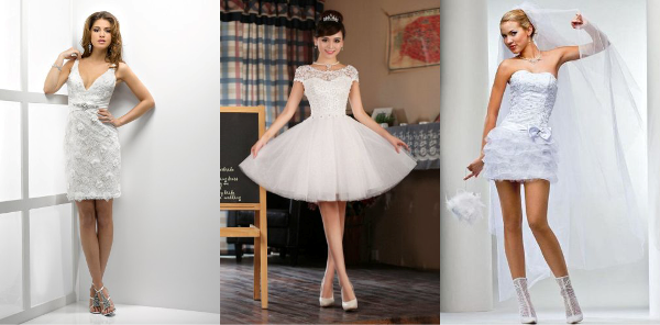 какие бывают короткие кружевные платья