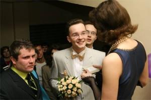 интересный выкуп невесты по тематике Лифт