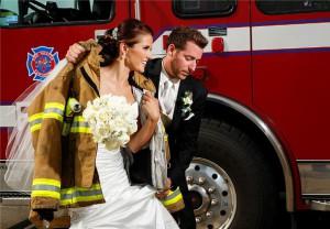 выкуп невесты в стиле пожарников